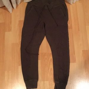Kendall and Kylie Army Green Sweatpants